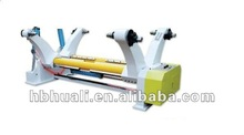 SYZ hydraulic shaft less mil roll stand for corrugated cardboard for carton box / automatic corrugated box making machine