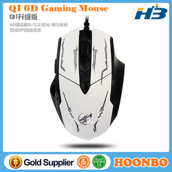 USB Wired 6D Gaming Optical Mouse Custom Gaming Mouse From Shenzhen Factory Direct