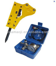 Mini hydraulic breaker hammer for wheel loader attachment