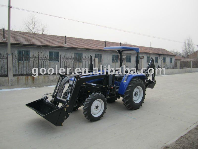 Compact Garden Tractor With Front End Loader And Backhoe Excavator View Front End Loader And