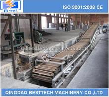 China AL ingot casting machine, aluminum ingot casting equipment