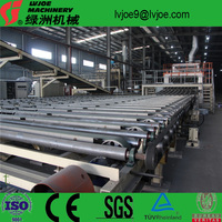 production lines and machinery Adopted the carbon steel and low alloy steel plates paper faced gypsum board production line