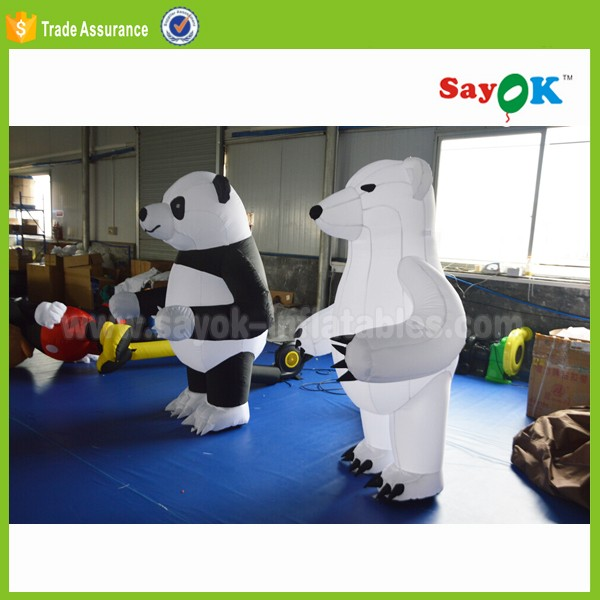 Source Giant Christmas Decoration Inflatable Bear Costumes G