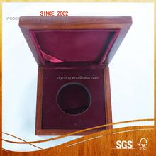 custom lint inside small wooden jewelry box