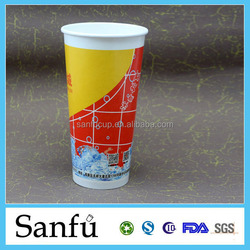 9.5oz 2015 New Year design 190g China Professional Manufactory Flexo Printed low price paper cup blank
