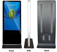 Network 1080p Advertising Digital Signage With Motion Sensor