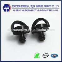 Camera screw 1/4 black finish ring screw