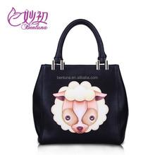 Benluna #3092 Fashion Women handbag pu leather bags guangzhou manufacturer,supplier for printed pu handbag