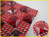 23*53cm Resin & Crystal Rhinestone Glue on Sheet