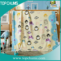 Online wholesale animal head plush baby blanket with China factory