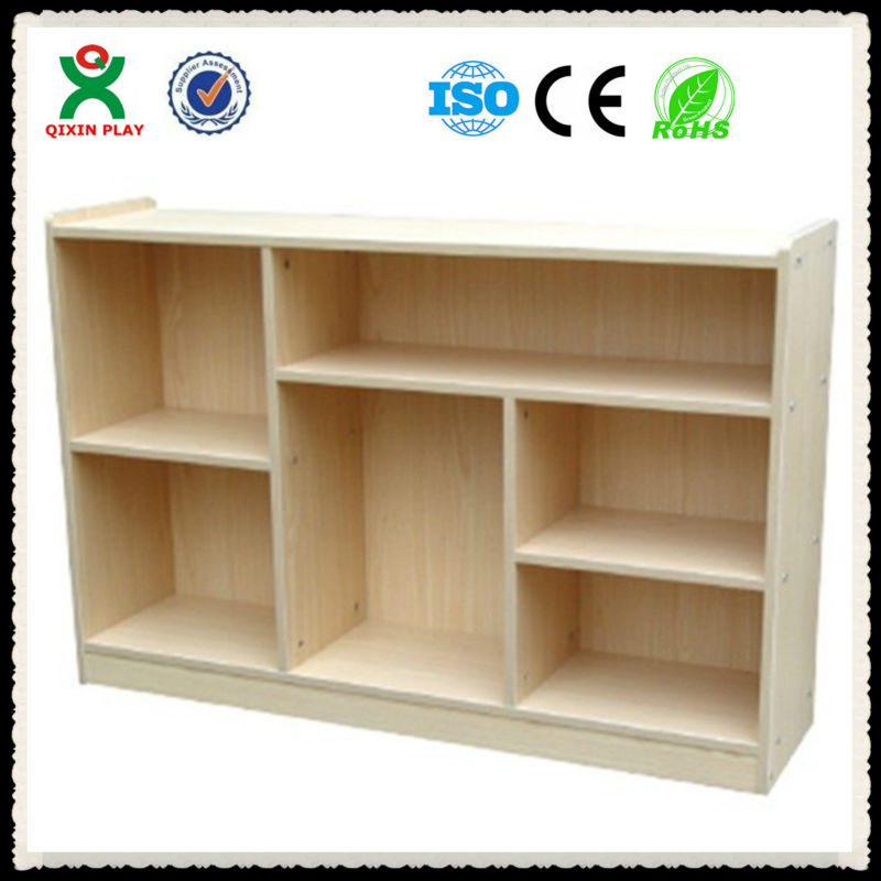 2013 Preschool Furniture Multifunctional Wooden Kids Storage Cabinet For Kindergarten Toy