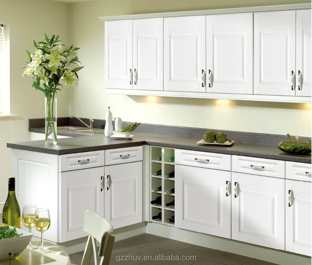 Mdf armoires de cuisine / blanc armoires de cuisine / conception ...