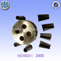 4 holes Post Tension Ring Prestressed Anchor and Wedges