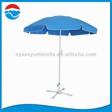 220cm*8k luxury windproof solid patio umbrella