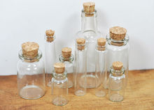 Wholesale OEM cork art synthetic wooden small glass bottle cork