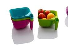 plastic stainer basket food basket