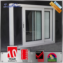 Australia AS2047 standard 10years warranty commercial interior curved kitchen sliding window aluminium