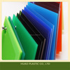 Top level promotional dual color extruded hdpe plastic sheet