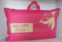Round tube pvc blanket zipper bag pillow carry bag
