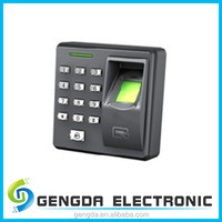 Network fingerprint reader device for attendance access control system