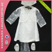 2015 Top Quality Baby Boy Baptism Cloth Set Muslim Boy Christening Gown