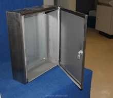 Custom stainless steel wall mount box metal enclosures for electronics