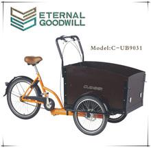three wheel tricycle cargo bike /bicycle/ trike UB 9031