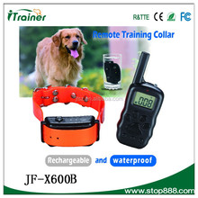 remote dog training collar JF-X600B pet products for dog