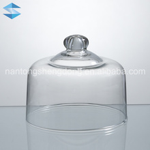 fashion glass cake dome bell jars wholesale