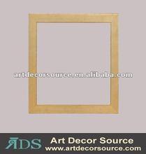Decorative simple wood frames