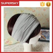 A-143 Bohemian Jersey Head wrap Yoga Headband Hairband Women Headwrap Headband