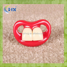 Hot Babypro Pass EN1400 Wholesale Baby Soother funny Mustache baby Pacifier