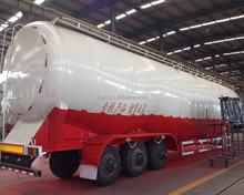 tri axle V shape 50 ton bulk cement transport truck