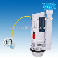 New material siphon toilet cistern flush mechanism