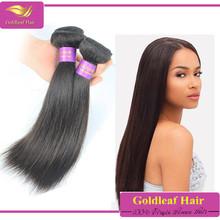 Unprocessed 100% brazilian human hair cheap straight hair weave