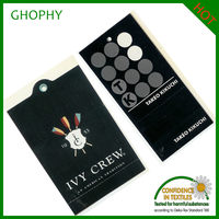 high quality garment tags /custom hang tags