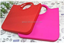 New Candy Silicone Shoulder Purse Handbag Satchel Bag Silicone Shopping Tote Bag