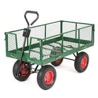 dump garden Cart with 4 wheels