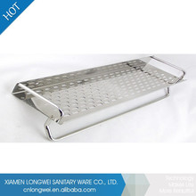 High Glossy Rectangle Stainless Steel Kitchen Commodity Shelf
