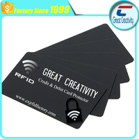 best defense against Crowd Hacking rfid credit card signal card protectors with factory price