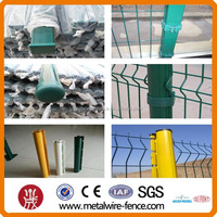 PVC green iron wire fencing