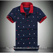 Hot Diseño de bordados Online Shopping Mens Polo Shirt