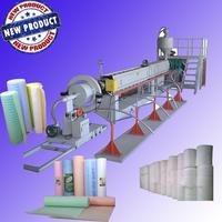 Plastic film sheet extruder /pe foam sheet making machine