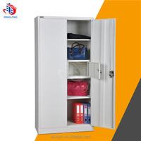 Bedroom furniture steel wardrobe closet design metal clothes cupboard