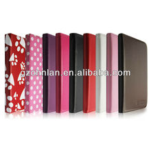 High quality PU leather universal 7 inch tablet protective case
