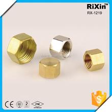 RX - 1219 wholesale high quality iron end cap tube end cap female threaded end cap