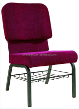 metal Banquet Church Chair with soft seat for Sale (with lock can link)