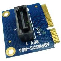 High quality MSATA to 7 pin SATA Adapter,mini sata to sata converter