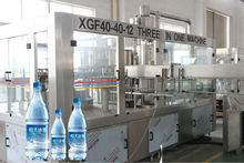 High quality bottle washing filling capping plant