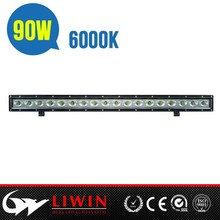 """LW Super bright waterproof battery powered led light bar L1-9w 29.5"""" 8100lm for motorcycle"""